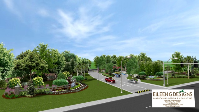Commercial Landscape Design_eileengdesigns