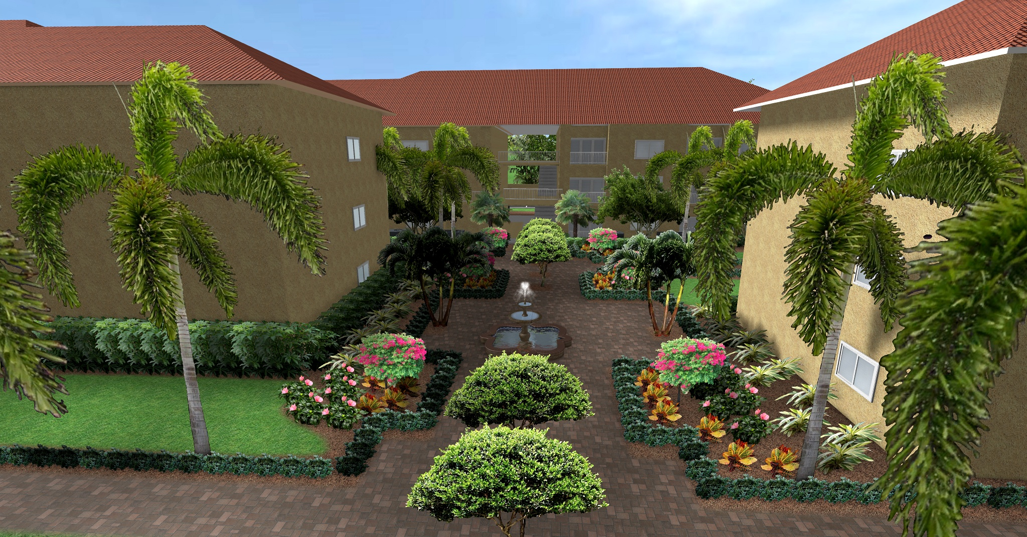 Waterway Courtyard Revision
