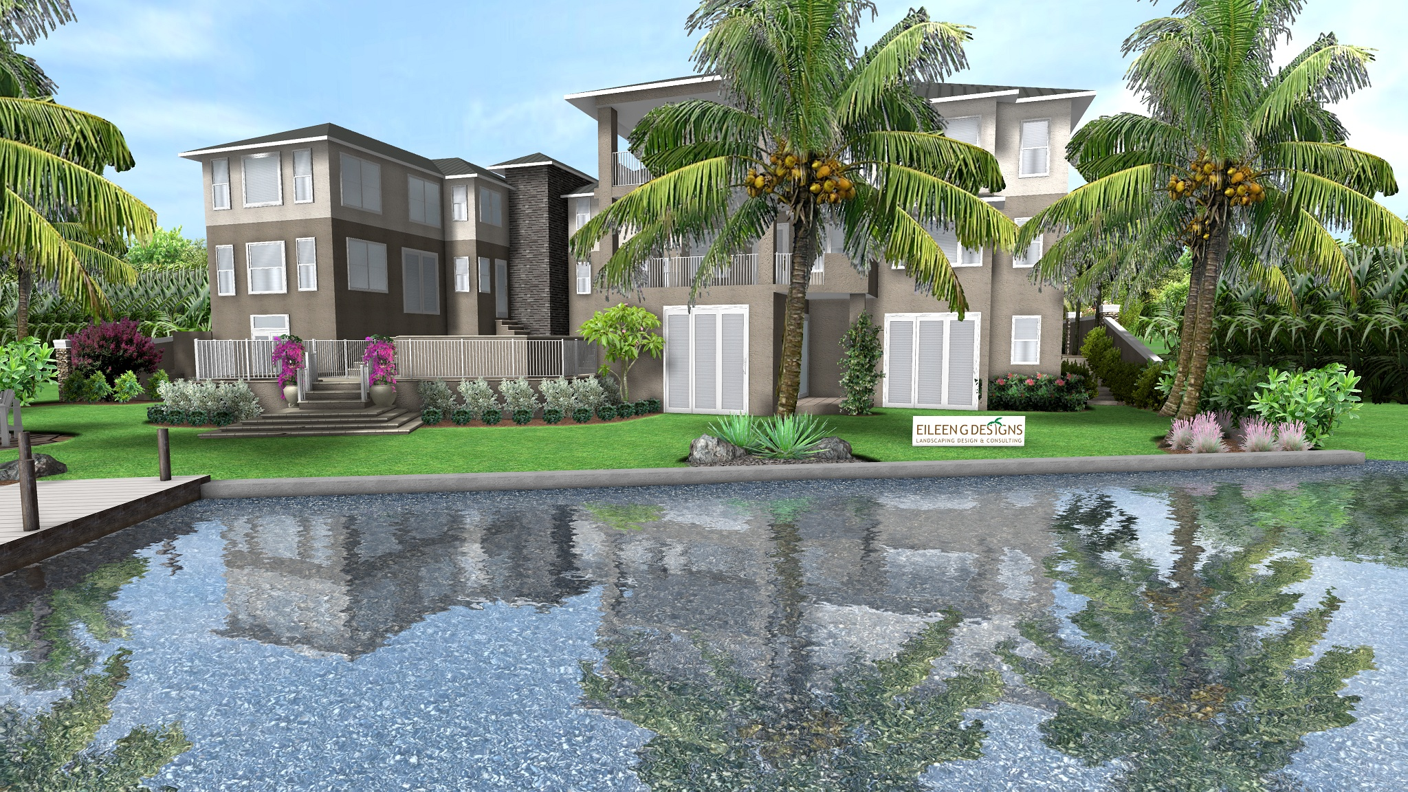 Tropical Landscape Design, Jupiter, FL