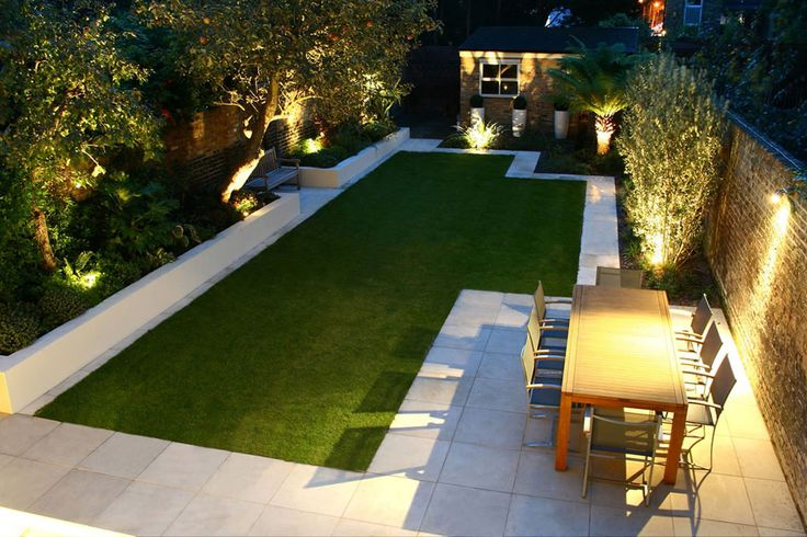 Small front yard landscape design Modern front garden ideas uk