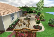 Backyard Transformation in Palm City, FL