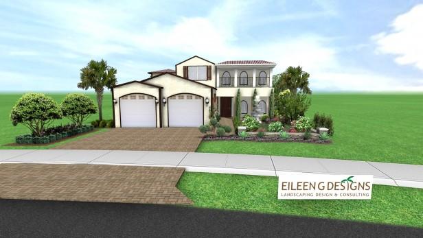 Mediterranean Landscape Design for Parkland FL