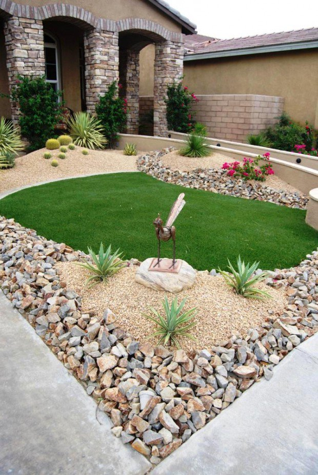 Small Front Yard Design 2